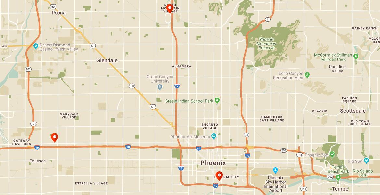Phoenix Motels & Hotels