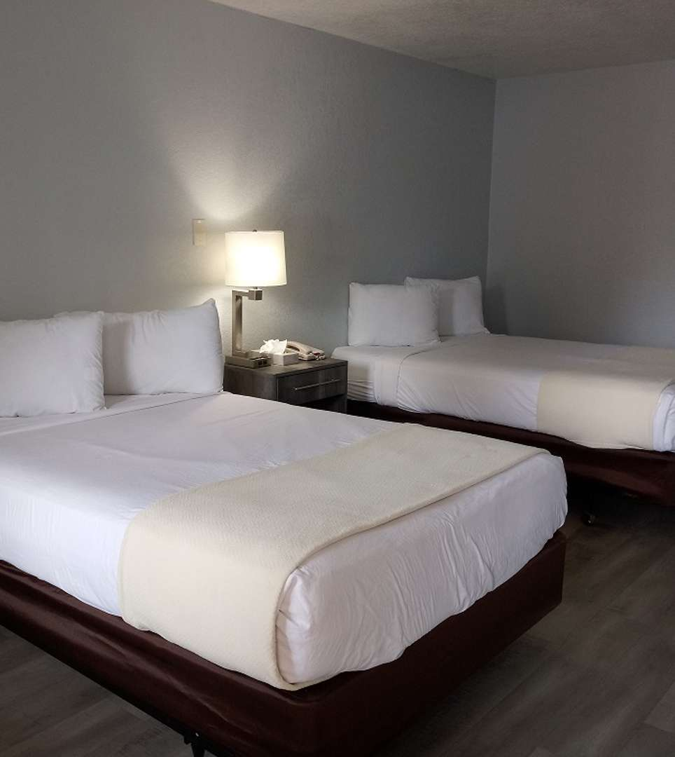WELL-APPOINTED GUESTROOMS FOR BUSINESS AND LEISURE TRAVEL AT E-Z 8 Motel South Bay