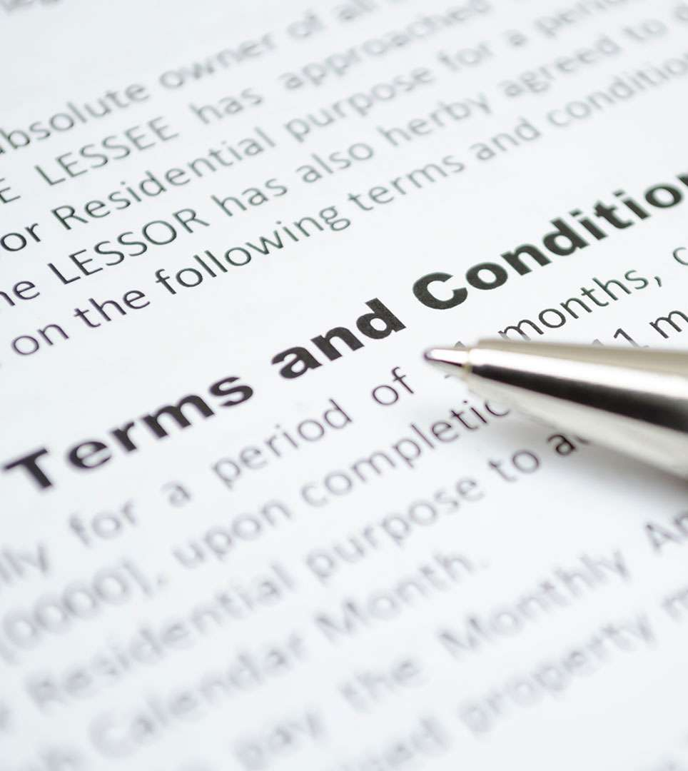TERMS & CONDITIONS - E-Z 8 MOTELS AND PREMIERE INNS