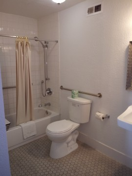 Welcome To EZ8 Palmdale Motel - Accessible Private Bathroom