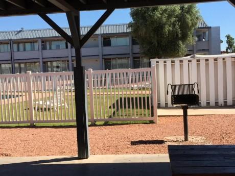Welcome To EZ 8 Phoenix Airporter - BBQ Area